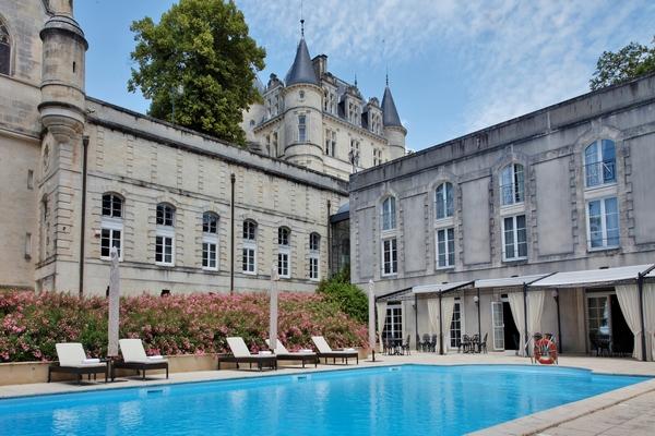5 Star Fairytale Chateau Rear plus pool