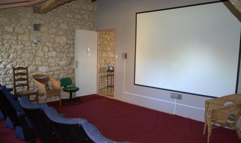 18 seat cinema